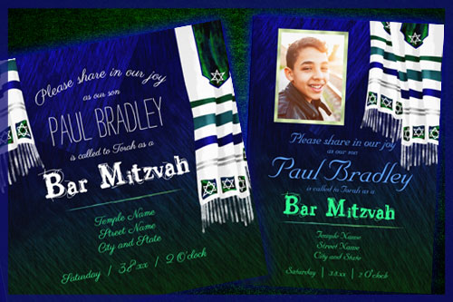 blue-silver-green-bar-mitzvah-invitations