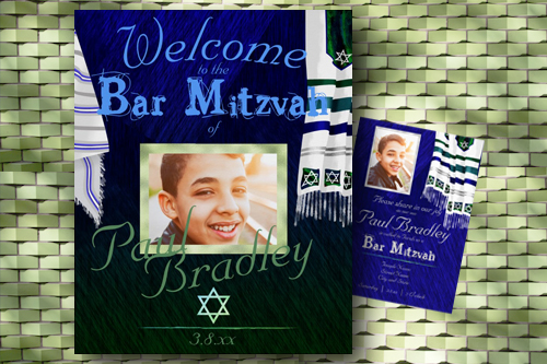 bar-mitzvah-welcome-sign-blue-silver-green