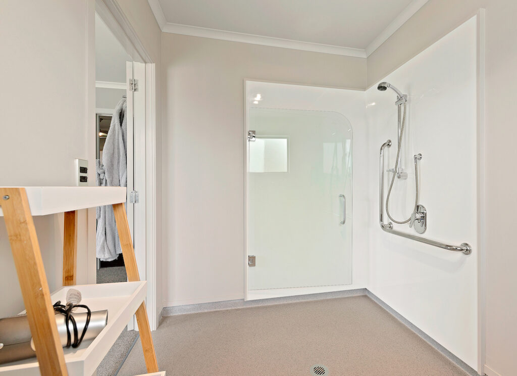 Room 1 - accessible bathroom