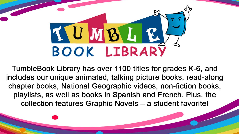 Tumble Book Library slide