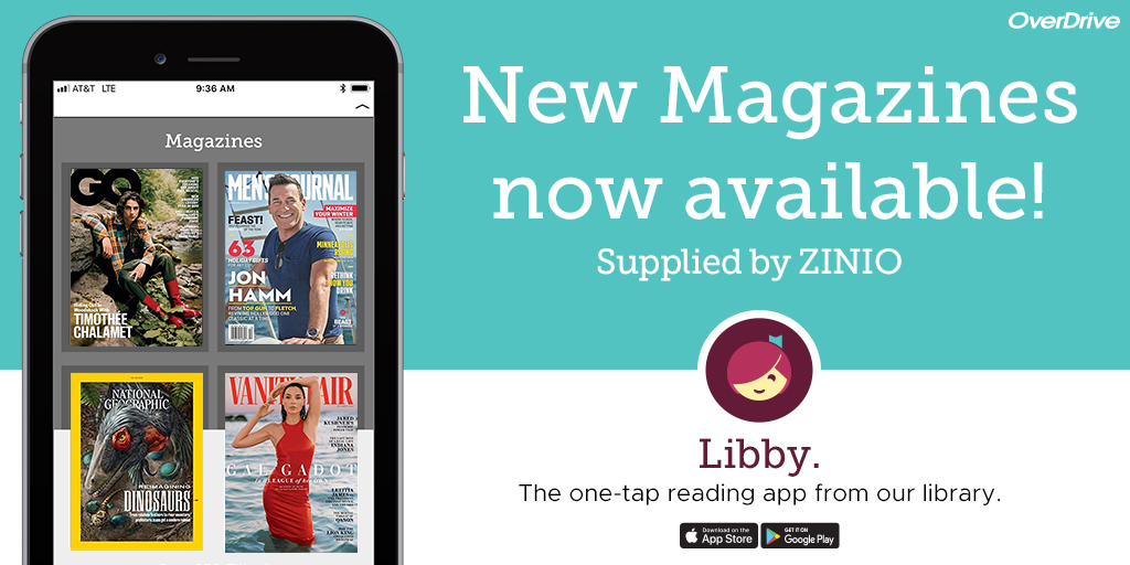 Libby new magazines