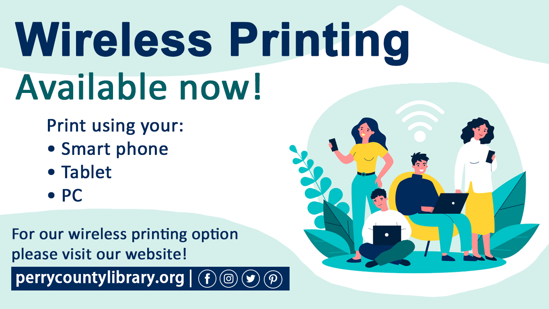Wireless printing slide website