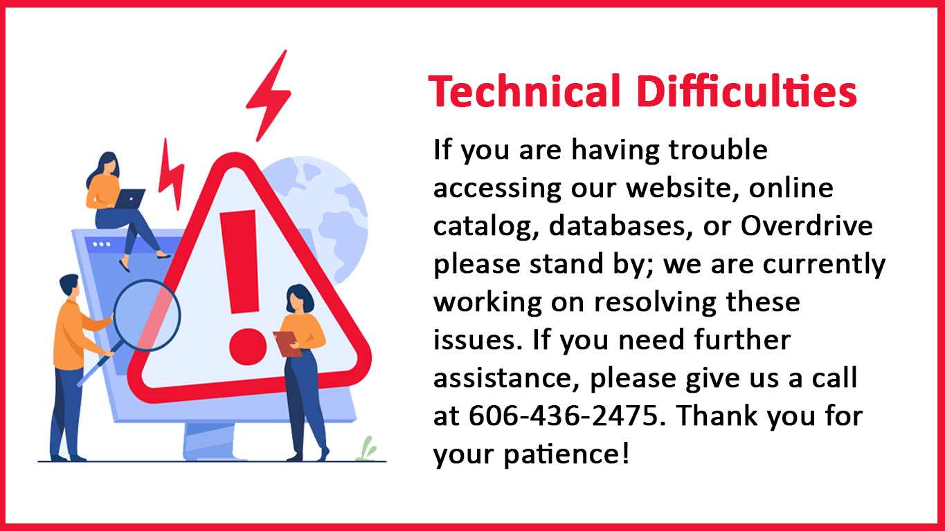 Technical Difficulties Slide