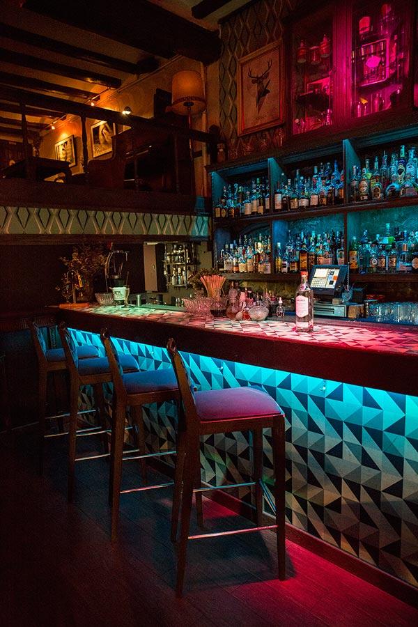Collage Cocktail bar, Barcelona