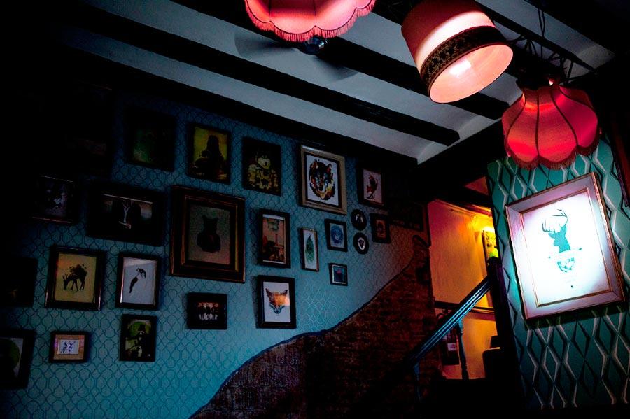 Collage Cocktail bar, Barcelona - interior