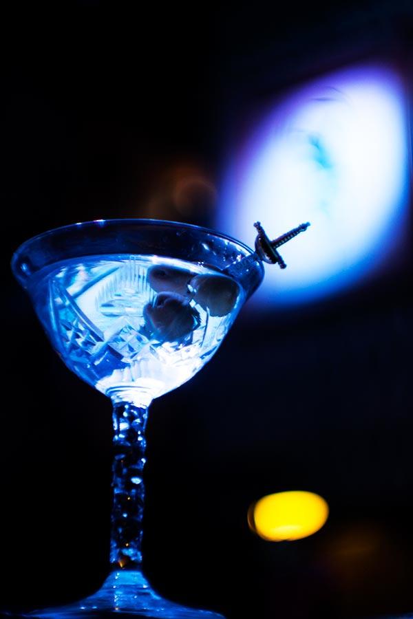 Cocktails at Collage Cocktail bar, Barcelona
