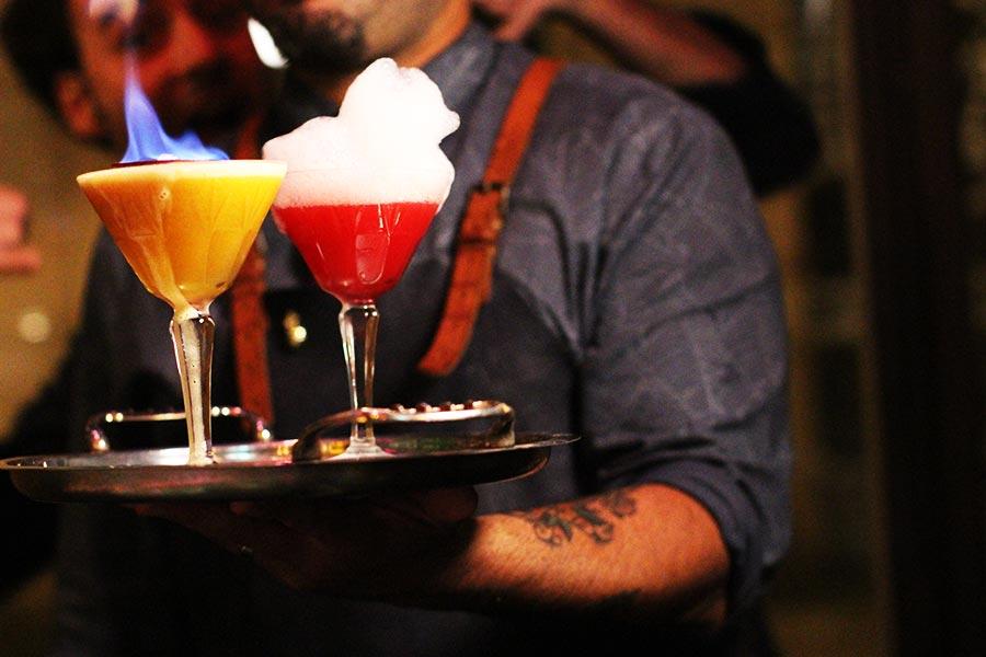 Collage Cocktail bar, Barcelona - cocktails