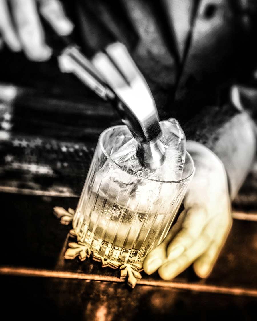 Jumi Tavern artisanal ice
