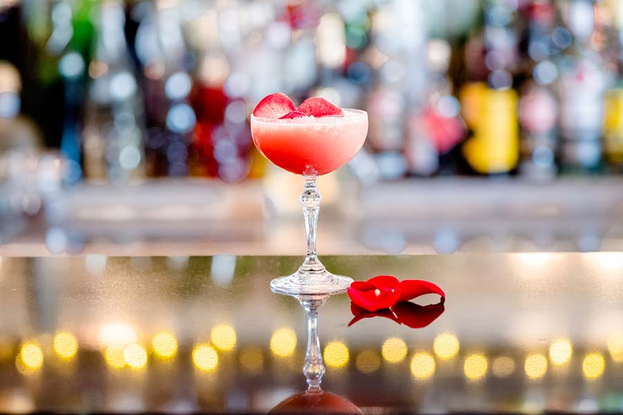 """Rock & Rose - cocktail 1 for """"Cocktails in the City"""" event"""
