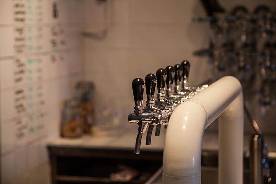 Butcher's Tears - beer taps