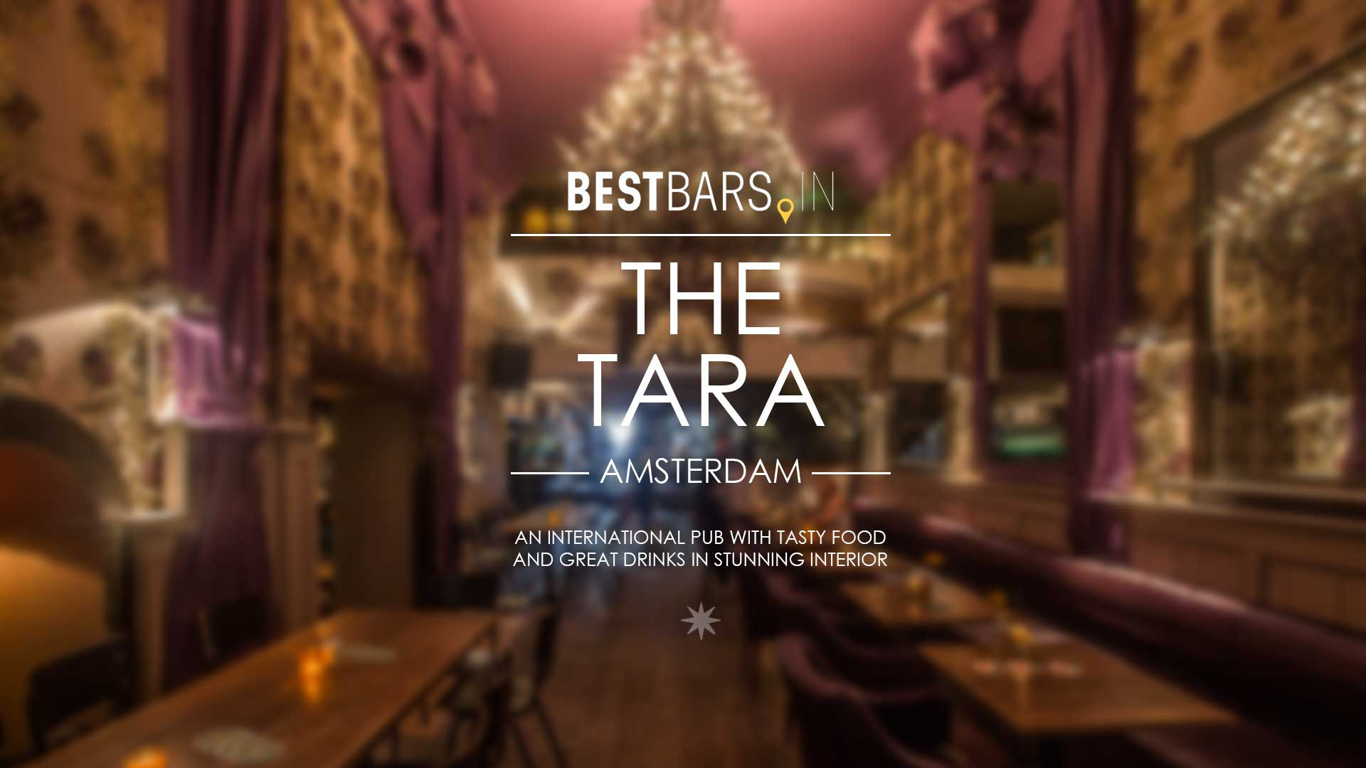 The Tara - an international pub in Amsterdam city center