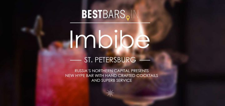 Imbibe Cocktail Bar in St. Petersburg
