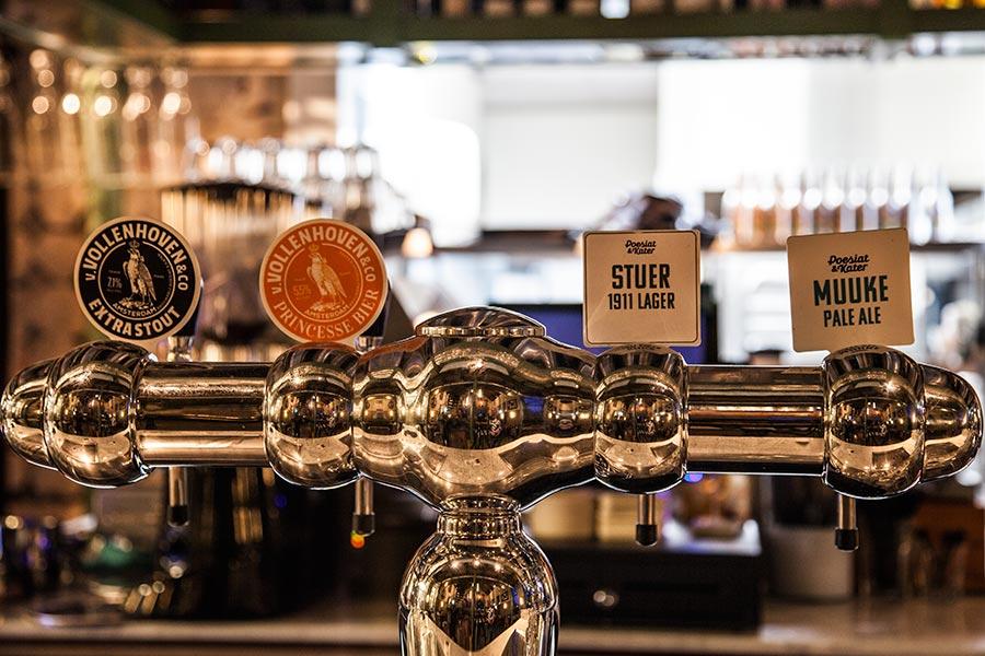 Poesiat & Kater - beer taps