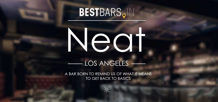 Neat Cocktail Bar LA