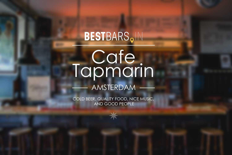 Cafe Tapmarin, Amsterdam