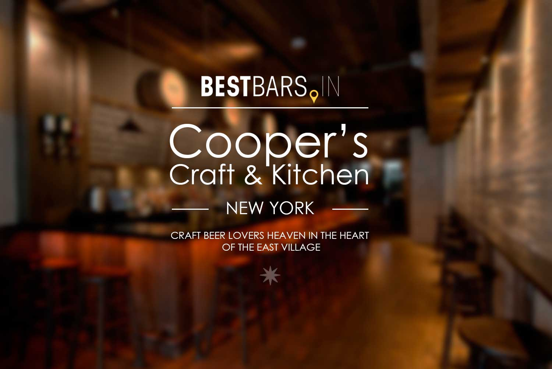 Cooper's Craft & Kitchen, NYC