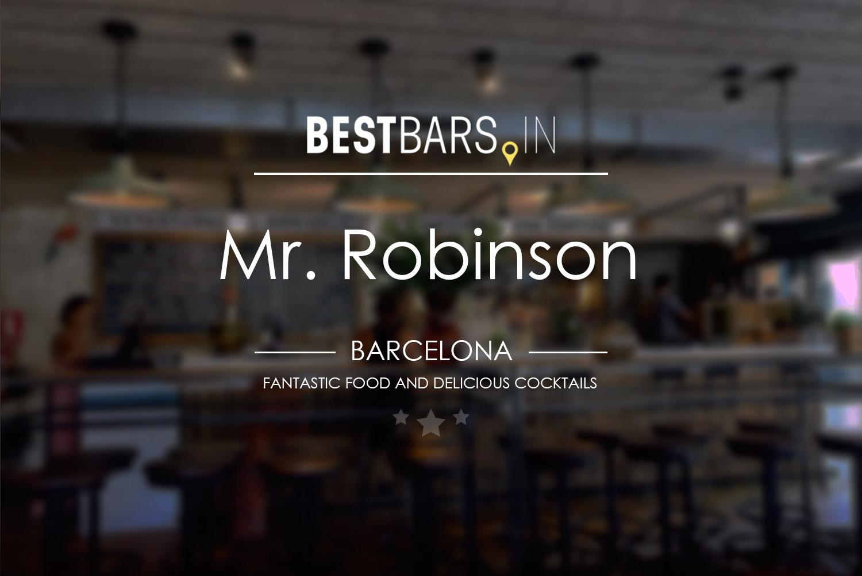 Mr. Robinson, Barcelona