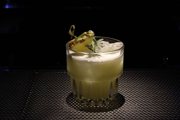 Love Will Tear Us Apart - Gin, Sage, Pineapple, Citrus and Orgeat