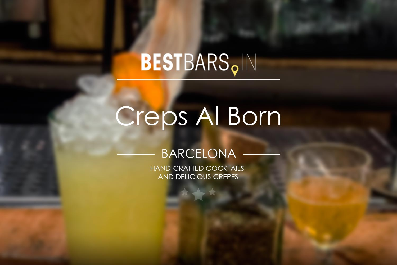 Creps Al Born - cocktail bar in Barcelona