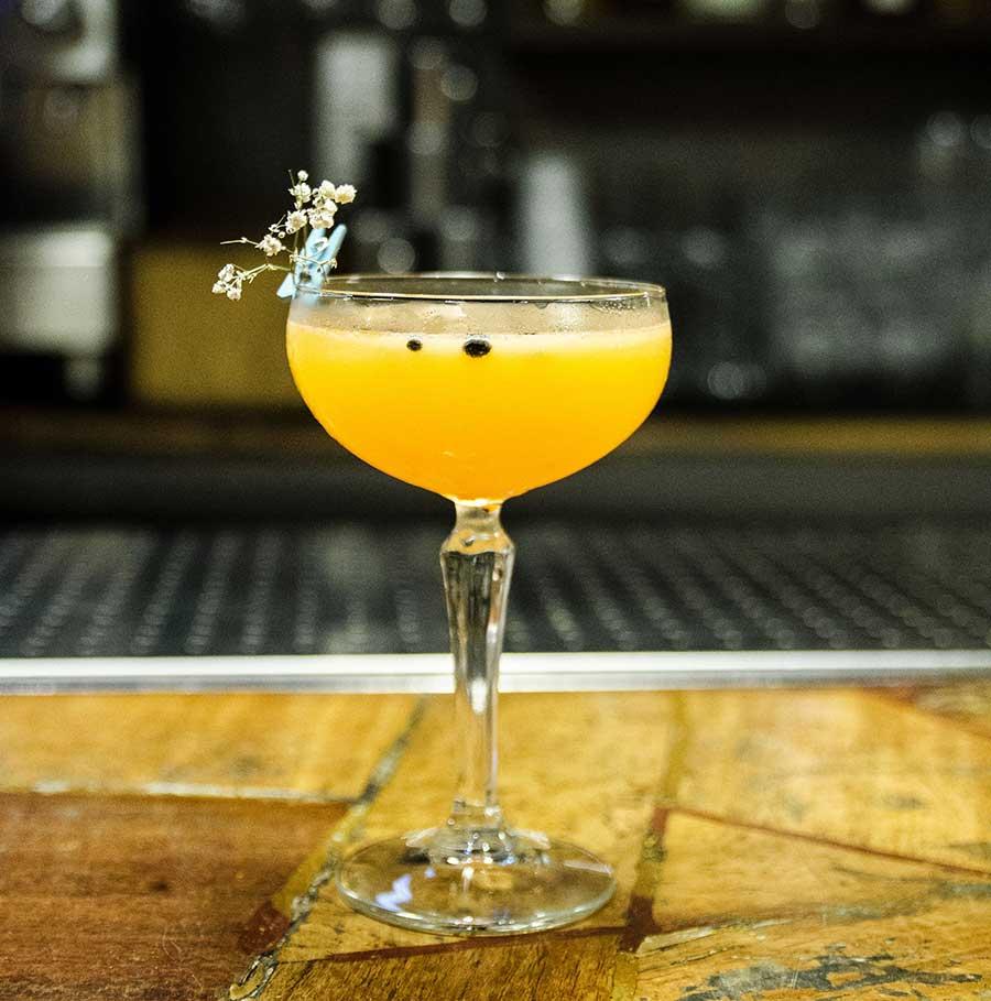 Orange is the new Black Cocktail, Creps Al Born, Barcelona