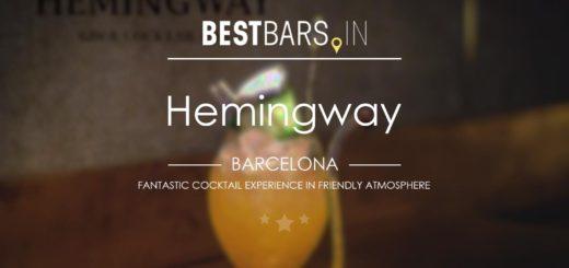 Hemingway Cocktail Bar, Barcelona