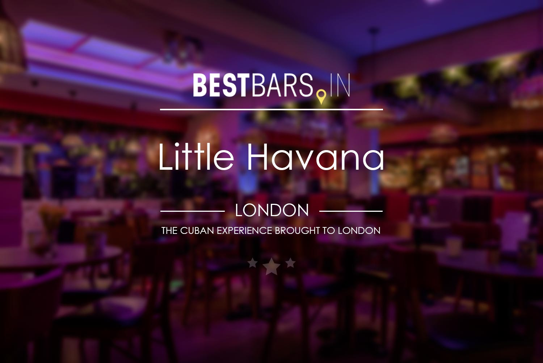 Little Havana bar and restaurant, London