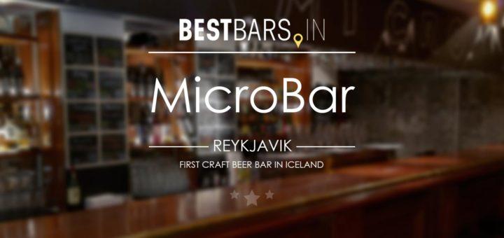 MicroBar Cover photo
