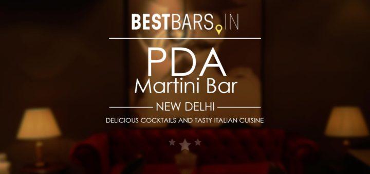 PDA Martini Bar, New Delhi