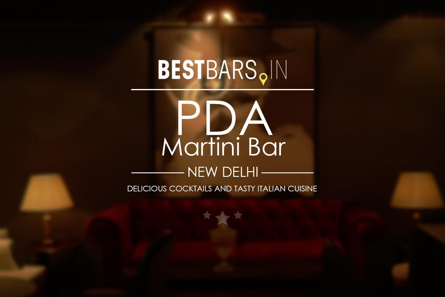 PDA Martini Bar, New Delhi