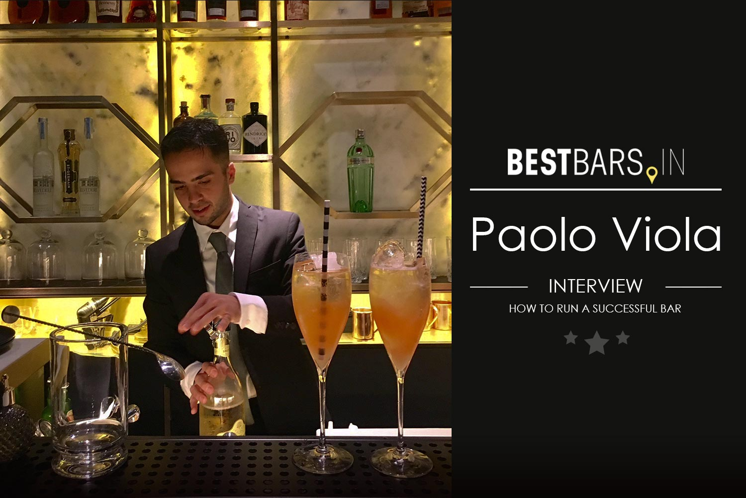 Paolo Viola - how to run a successful bar