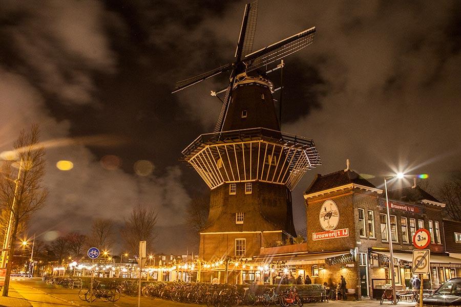 Brouwerij Het Ij - windmill