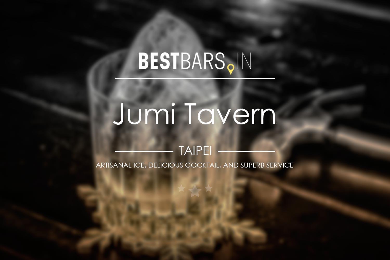 Jumi Tavern, cocktail bar, Taipei