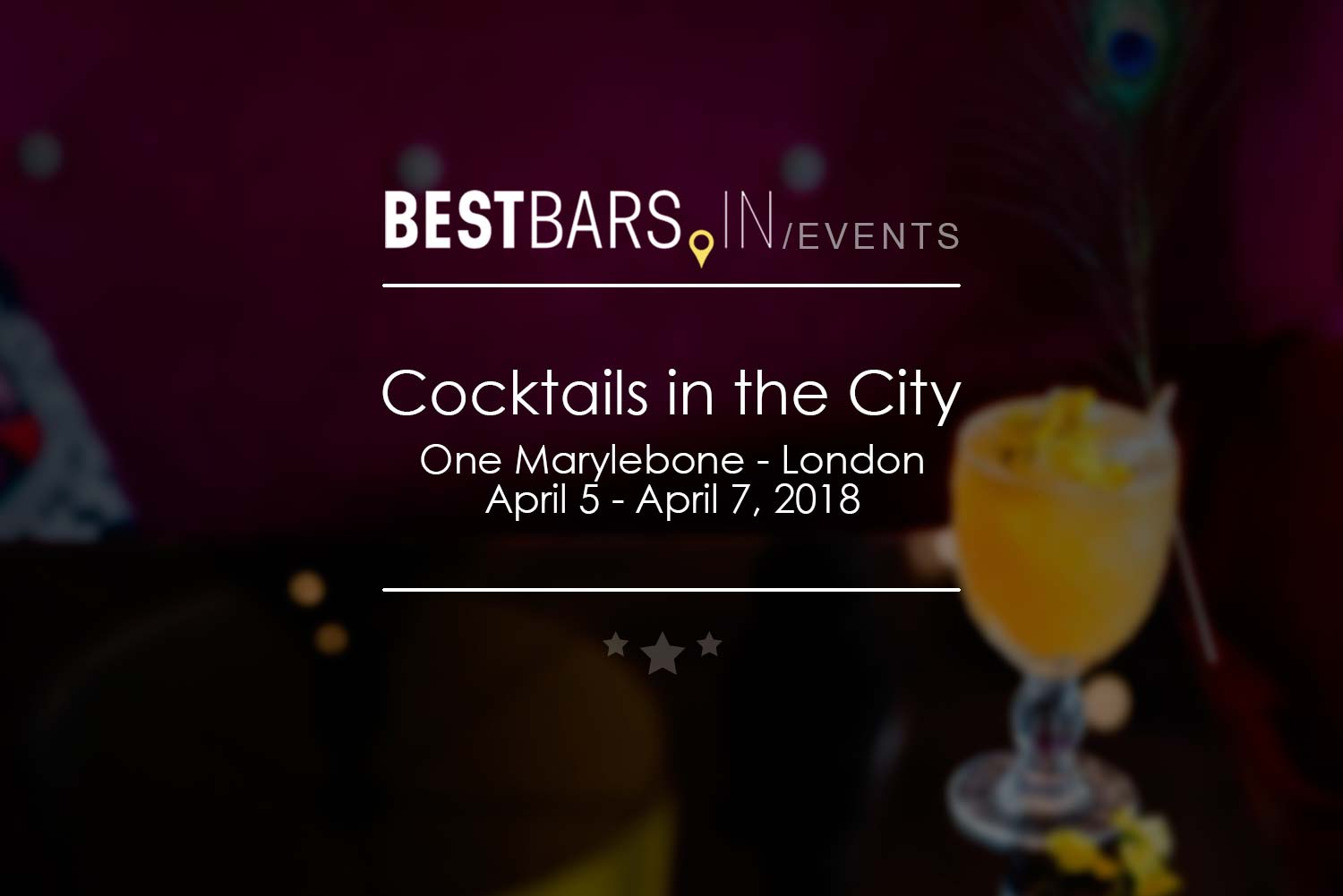 Cocktails in the City - London