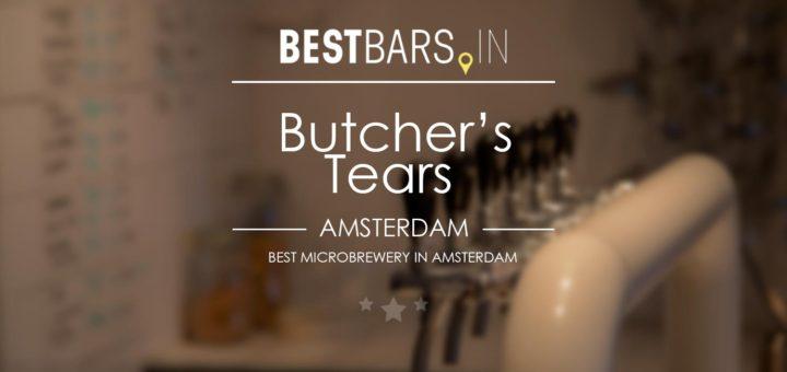 Butcher's Tears microbrewery, Amsterdam