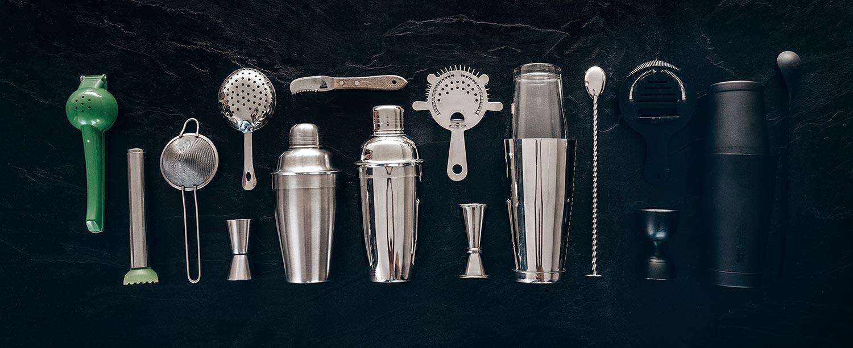 Essential home bar tools
