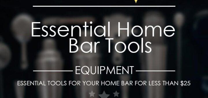 Essential home bar tools thumbnail