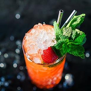 Strawberry Mojito cocktail recipe