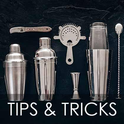 Bartending tips and tricks