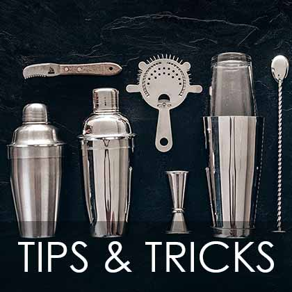 Bartending tips and tricks