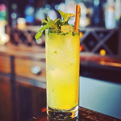 Cilantro Cooler cocktail recipe