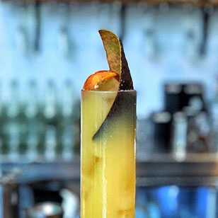 Nope, Not Ripe, Still Not, Eat Me Now!! Too Late - tequila based cocktail with avocado