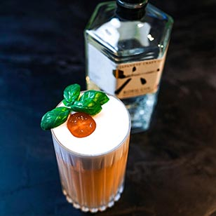 Cherroku Sour cocktail