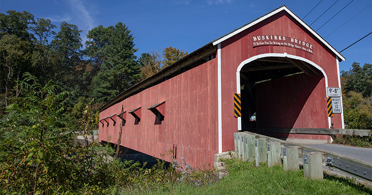 buskirks covered bridge