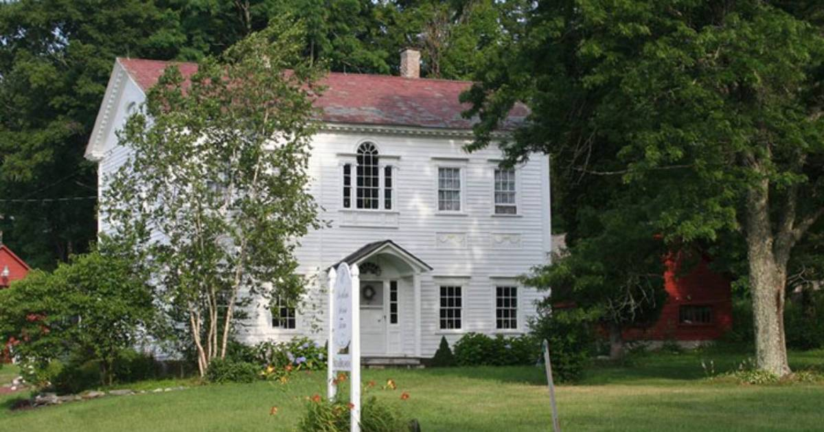 a historic white house