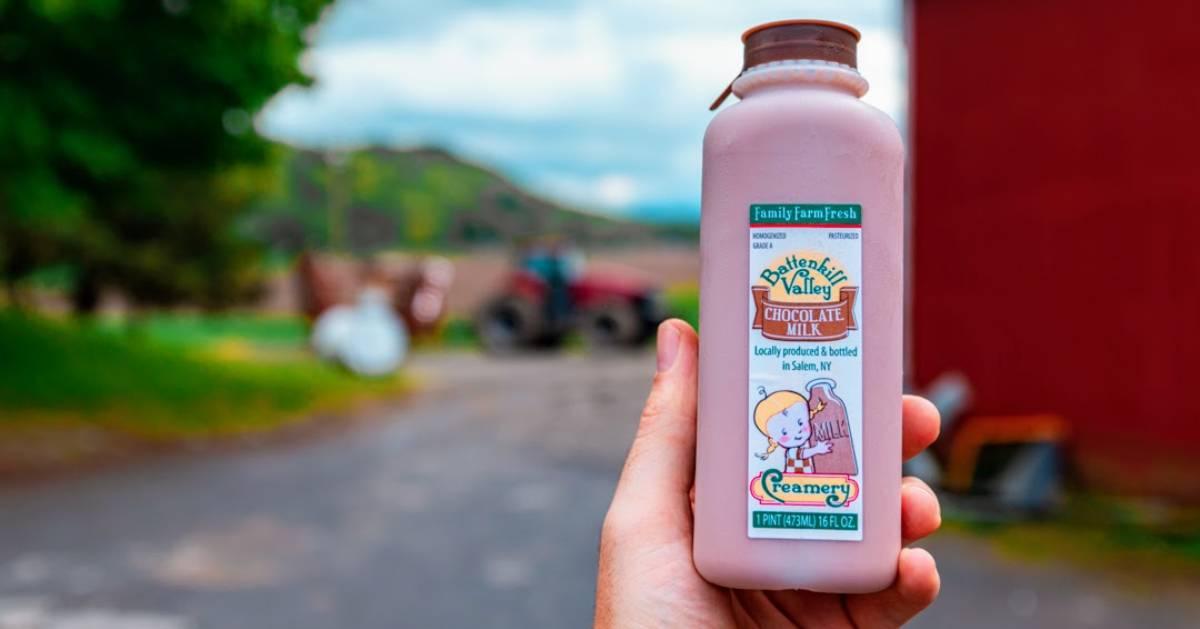 Battenkill Valley Creamery's chocolate milk