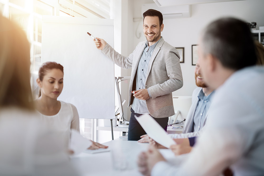 corporate training system