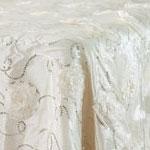 Ivory Flower Sequin