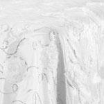 White Flower Sequin