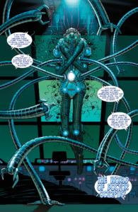 Página de O Espetacular Homem-Aranha #600