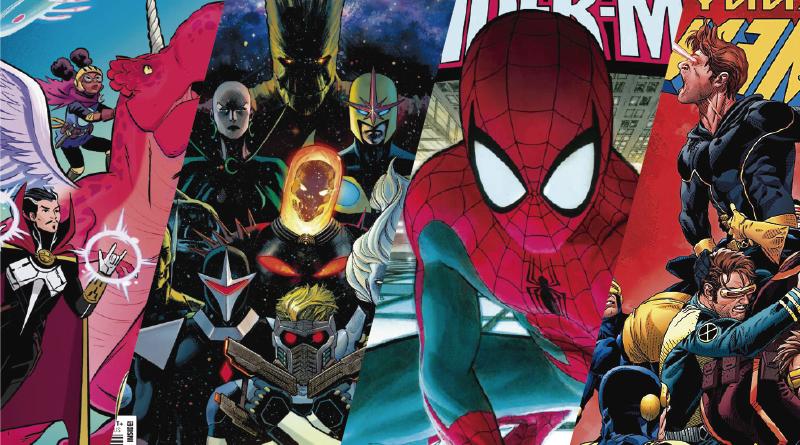 Confira todas as HQs que a Marvel publicará nos EUA em 23 de ...